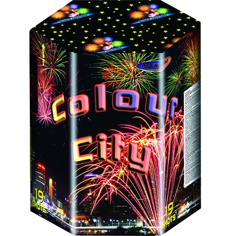 Батарея салютов COLOUR CITY арт.MC200-19