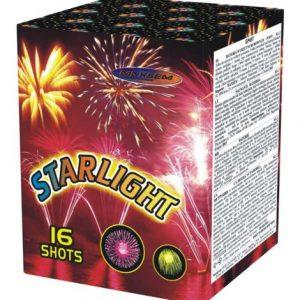 Компактная батарея салютов STARLIGHT арт.GP497