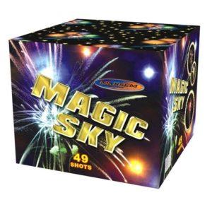 Большая батарея салютов MAGIC SKY арт.SB49-03