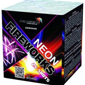Компактная батарея салютов NEON FIREWORKS арт.GWM5048