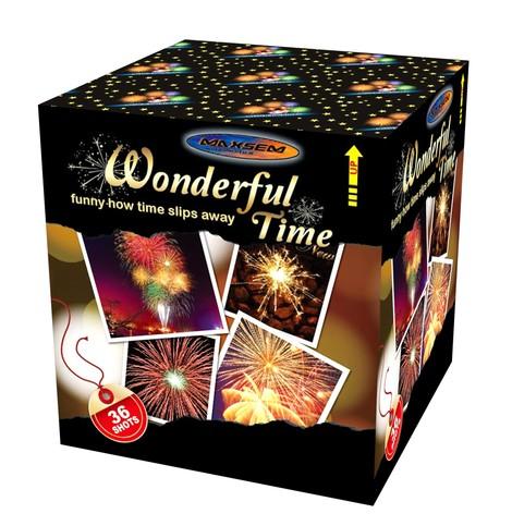 Большая батарея салютов WONDERFUL TIME арт.GWM6361