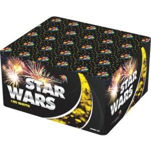 Большая батарея салютов STAR WARS арт.GWM6122