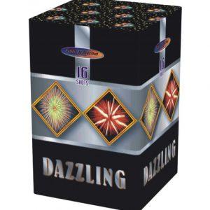 Компактная батарея салютов DAZZLING арт.GP505