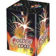 Компактная батарея салютов GOLDEN COCO арт.GP550