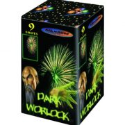 Компактная батарея салютов DARK WORLOCK GREEN арт.GW218-92