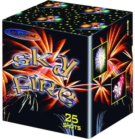Батарея салютов SKY FIRE арт.MC175-25