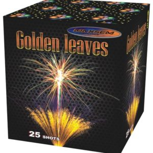 Большая батарея салютов GOLDEN LEAVES 25 арт.SB25-02