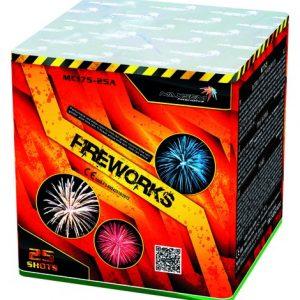 Батарея салютов FIREWORKS арт.МС175-25А