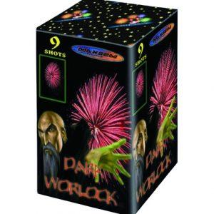 Компактная батарея салютов DARK WORLOCK RED арт.GW218-90