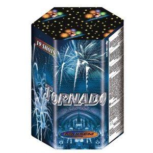 Большая батарея салютов TORNADO арт.WP2538