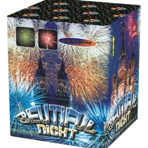 Большая батарея салютов BEUTIFUL NIGHT арт.MC101