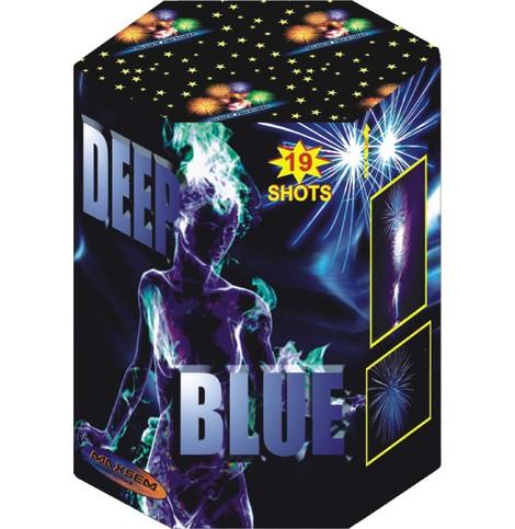 Большая батарея салютов DEEP BLUE арт.GWM5028