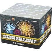 Батарея салютов SCINTILLANT арт.MC116