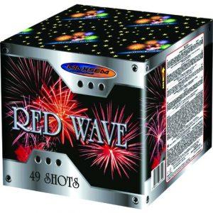 Средняя батарея салютов RED WAVE арт.MC113