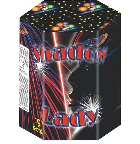 Батарея салютов SHADOW LADY арт.MC175-19